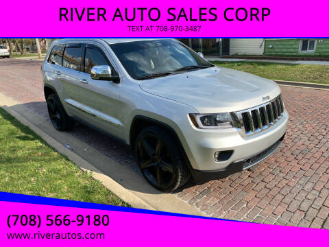 2011 Jeep Grand Cherokee for sale at RIVER AUTO SALES CORP in Maywood IL