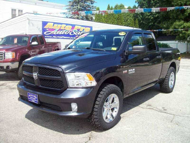 2015 RAM Ram Pickup 1500 for sale at Auto Pro Auto Sales in Lewiston ME