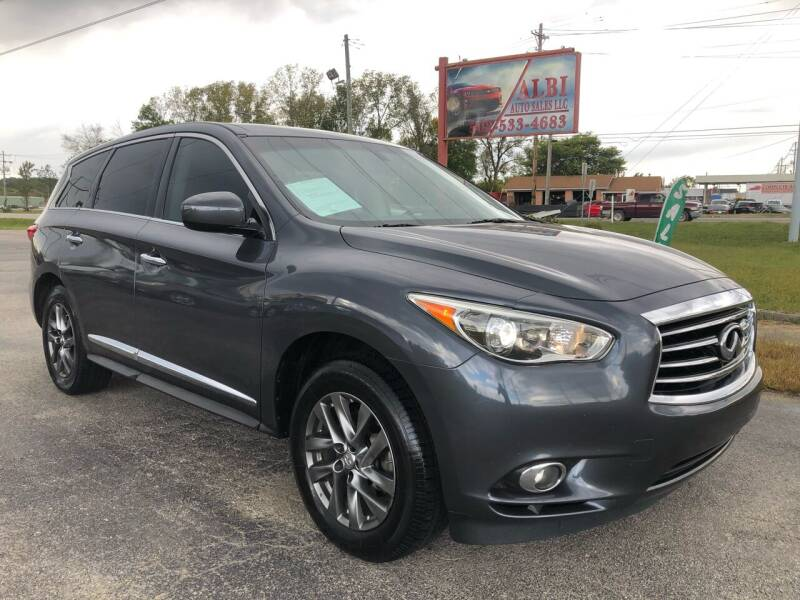 2013 Infiniti JX35 for sale at Albi Auto Sales LLC in Louisville KY