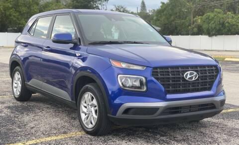 2021 Hyundai Venue for sale at Guru Auto Sales in Miramar FL