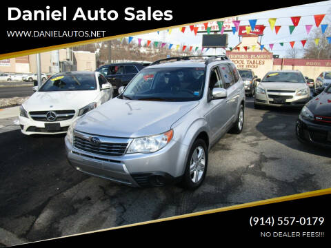 2010 Subaru Forester for sale at Daniel Auto Sales in Yonkers NY