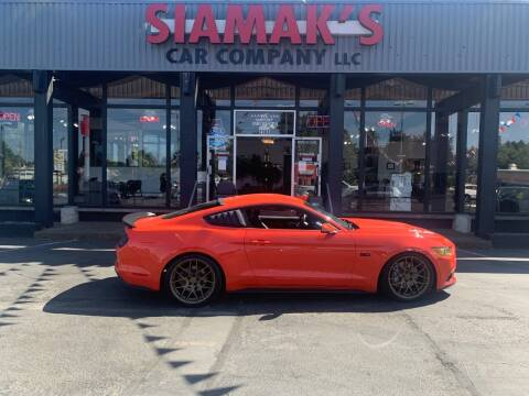 2015 Ford Mustang for sale at Siamak's Car Company llc in Salem OR