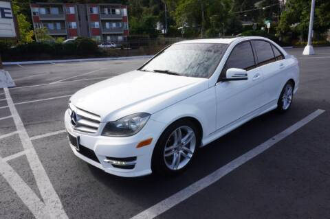 2014 Mercedes-Benz C-Class for sale at Precision Motors LLC in Renton WA