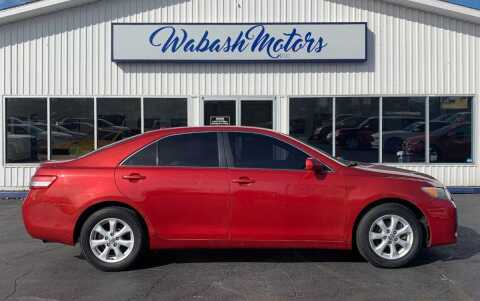 2011 Toyota Camry for sale at Wabash Motors in Terre Haute IN