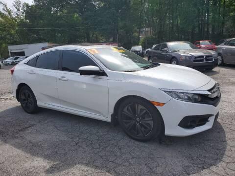 2017 Honda Civic for sale at Import Plus Auto Sales in Norcross GA