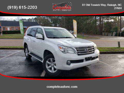 2012 Lexus GX 460 for sale at Complete Auto Center , Inc in Raleigh NC