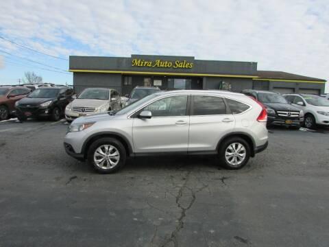 2012 Honda CR-V for sale at MIRA AUTO SALES in Cincinnati OH