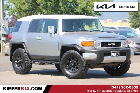 2011 Toyota FJ Cruiser for sale at Kiefer Kia in Eugene OR