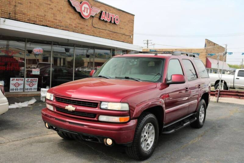 2004 Chevrolet Tahoe for sale at JT AUTO in Parma OH