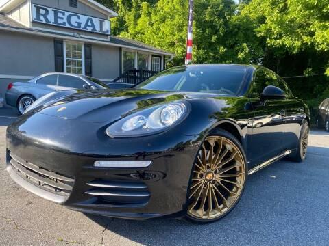 2014 Porsche Panamera for sale at Regal Auto Sales in Marietta GA