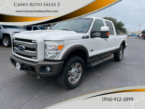 2016 Ford F-250 Super Duty for sale at Cano Auto Sales 2 in Harlingen TX