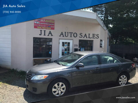 2010 Toyota Camry for sale at JIA Auto Sales in Port Monmouth NJ