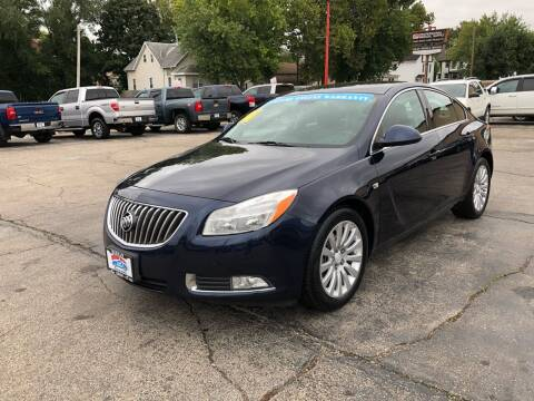 2011 Buick Regal for sale at Bibian Brothers Auto Sales & Service in Joliet IL