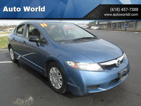 2011 Honda Civic for sale at Auto World in Carbondale IL