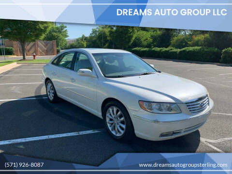 2008 Hyundai Azera for sale at Dreams Auto Group LLC in Sterling VA