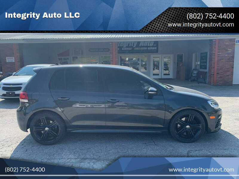 2013 Volkswagen Golf R for sale at Integrity Auto LLC - Integrity Auto 2.0 in St. Albans VT