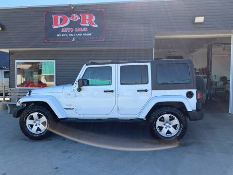 2012 Jeep Wrangler Unlimited for sale at D & R Auto Sales in South Sioux City NE
