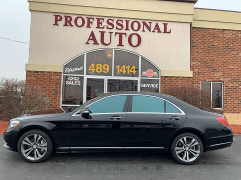 2015 Mercedes-Benz S-Class for sale at Professional Auto Sales & Service in Fort Wayne IN