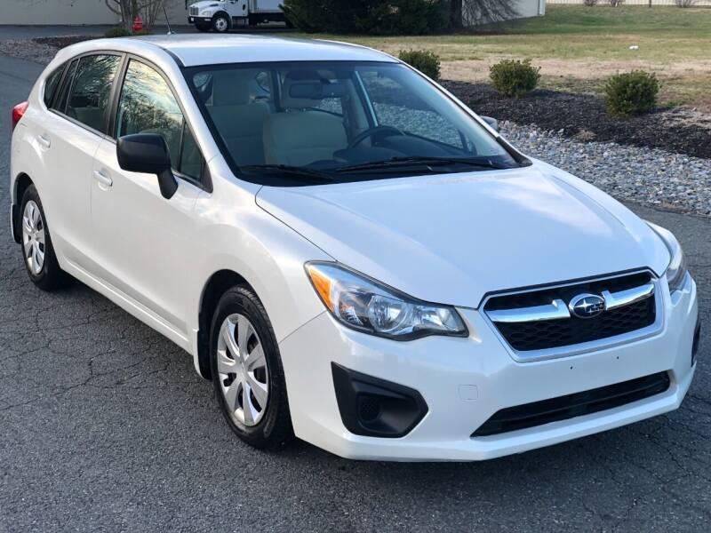 2012 Subaru Impreza for sale at ECONO AUTO INC in Spotsylvania VA