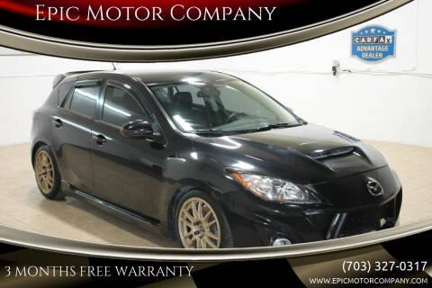 2011 Mazda MAZDASPEED3 for sale at Epic Motor Company in Chantilly VA