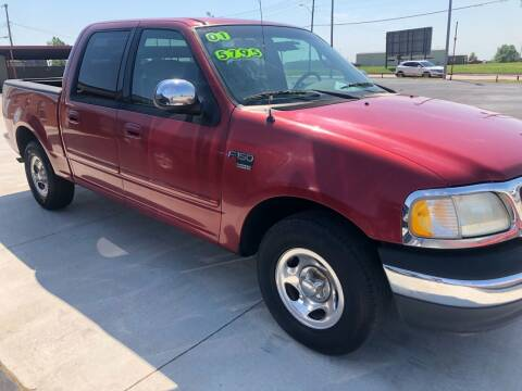 2001 Ford F-150 for sale at Moore Imports Auto in Moore OK