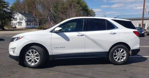 2019 Chevrolet Equinox for sale at Healey Auto in Rochester NH