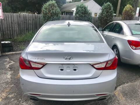 2012 Hyundai Sonata for sale at Tiger Auto Sales in Columbus OH