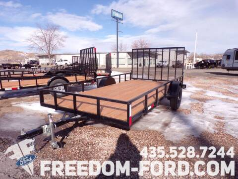 2021 FF OFFROAD 7x14 Single Axle for sale at Freedom Ford Inc in Gunnison UT