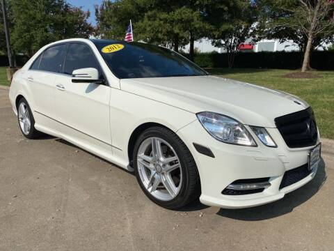 2012 Mercedes-Benz E-Class for sale at UNITED AUTO WHOLESALERS LLC in Portsmouth VA