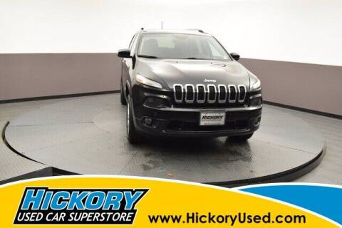2017 Jeep Cherokee for sale at Hickory Used Car Superstore in Hickory NC