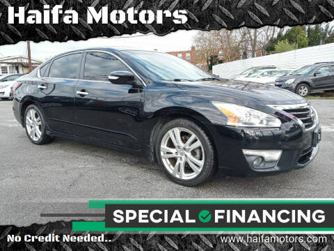 2015 Nissan Altima for sale at Haifa Motors in Philadelphia PA