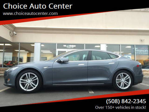 2014 Tesla Model S for sale at Choice Auto Center in Shrewsbury MA