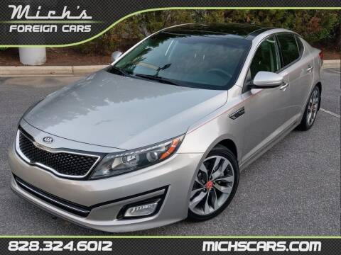 2015 Kia Optima for sale at Mich's Foreign Cars in Hickory NC