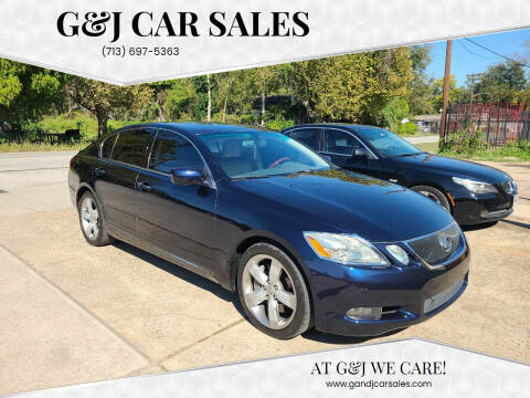 2007 Lexus GS 350 for sale at G&J Car Sales in Houston TX