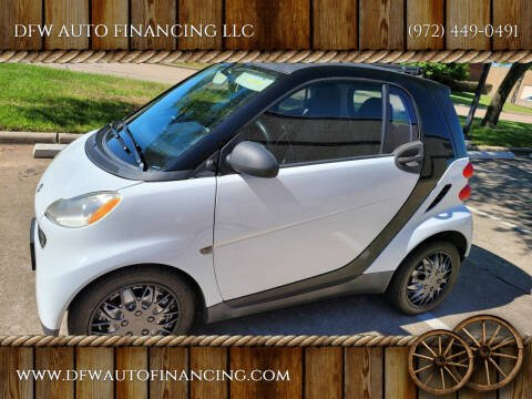 2011 Smart fortwo for sale at DFW AUTO FINANCING LLC in Dallas TX