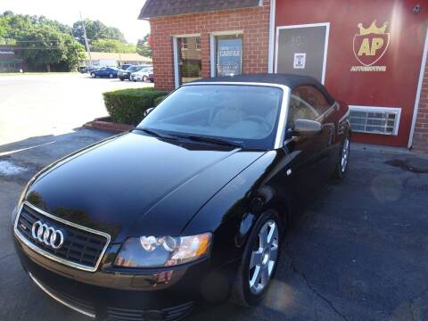 2004 Audi A4 for sale at AP Automotive in Cary NC