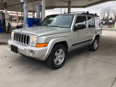 2008 Jeep Commander for sale at JE Auto Sales LLC in Indianapolis IN