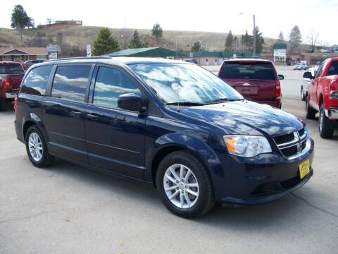 2016 Dodge Grand Caravan for sale at Central City Auto West in Lewistown MT