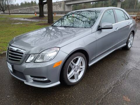 2013 Mercedes-Benz E-Class for sale at EXECUTIVE AUTOSPORT in Portland OR