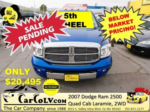 2007 Dodge Ram Pickup 2500 for sale at The Car Company in Las Vegas NV