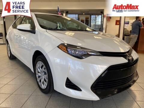 2017 Toyota Corolla for sale at Auto Max in Hollywood FL