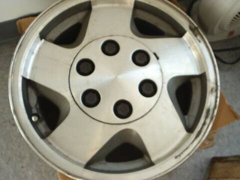 1999 Chevrolet truck wheel for sale at Wamsley's Auto Sales in Colonial Heights VA