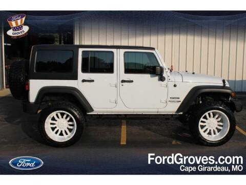 2018 Jeep Wrangler JK Unlimited for sale at JACKSON FORD GROVES in Jackson MO