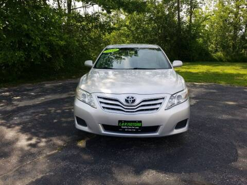 2010 Toyota Camry for sale at L & R Motors in Greene ME