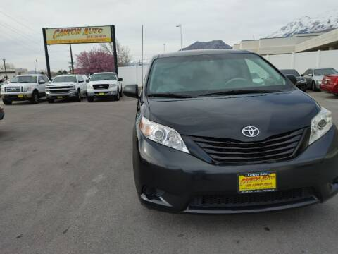 2014 Toyota Sienna for sale at Canyon Auto Sales in Orem UT