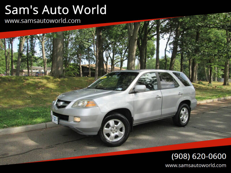 2006 Acura MDX for sale at Sam's Auto World in Roselle NJ