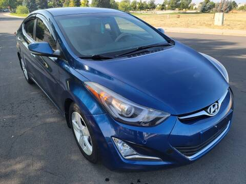 2015 Hyundai Elantra for sale at Red Rock's Autos in Denver CO
