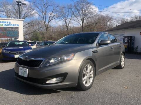 2013 Kia Optima for sale at Sports & Imports in Pasadena MD