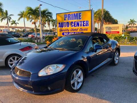 2009 Mitsubishi Eclipse Spyder for sale at PRIME AUTO CENTER in Palm Springs FL