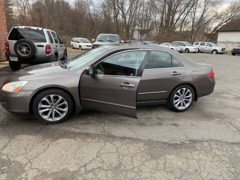 2006 Honda Accord for sale at Balfour Motors in Agawam MA